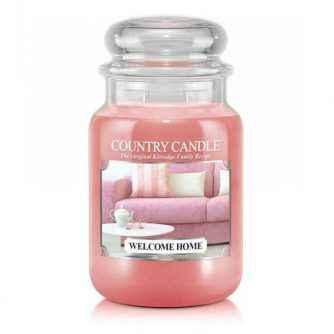 Country Candle Welcome Home - duża świeca zapachowa - e-candlelove