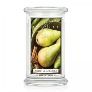 Kringle Candle Anjou & Allspice - duża świeca zapachowa - candlelove