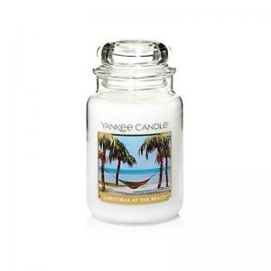 Yankee Candle Christmas At The Beach - duża świeca zapachowa - e-candlelove