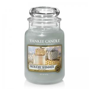 Yankee Candle Holiday Shimmer - duża świeca zapachowa - e-candlelove