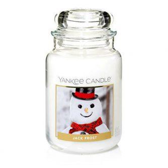 Yankee Candle Jack Frost - duża świeca zapachowa - e-candlelove