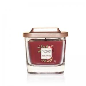 Yankee Candle Elevation Holiday Pomegranate - mała świeca zapachowa - candlelove