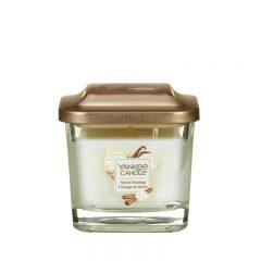 Yankee Candle Sweet Frosting – mała kwadratowa świeca z jednym knotem NOWOŚĆ