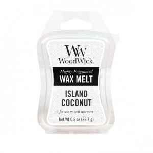 WoodWick Island Coconut - wosk zapachowy - candlelove