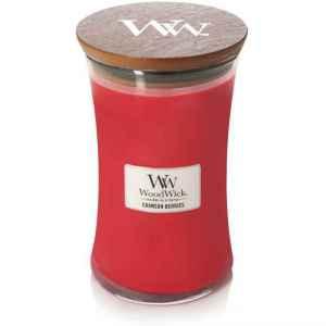 WoodWick Crimson Berries – świeca duża
