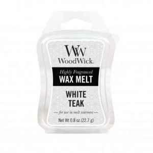 WoodWick White Teak - wosk zapachowy - e-candlelove