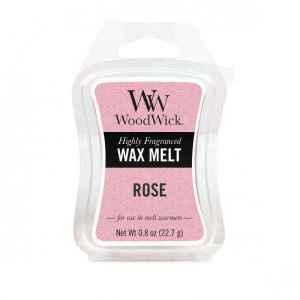 WoodWick Rose - wosk zapachowy - candlelove