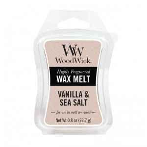 WoodWick Vanilla & Sea Salt - wosk zapachowy - e-candlelove