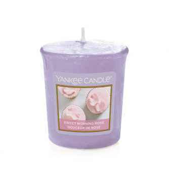 Yankee Candle Sweet Morning Rose - sampler zapachowy - e-candlelove