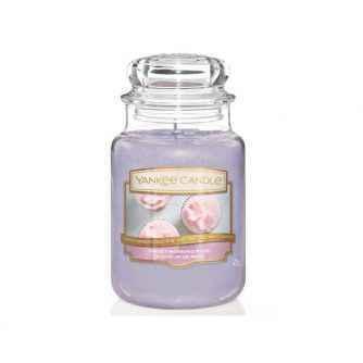 Yankee Candle Sweet Morning Rose - duża świeca zapachowa - e-candlelove