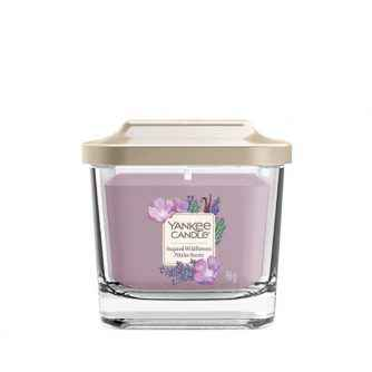 Yankee Candle Elevation Sugared Wildflowers - mała świeca zapachowa - e-candlelove