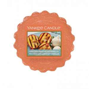 Yankee Candle Grilled Peaches & Vanilla - wosk zapachowy - candlelove